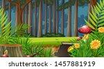 nature scene landscape template ... | Shutterstock .eps vector #1457881919