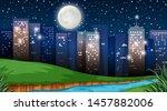 natural environment scenes... | Shutterstock .eps vector #1457882006
