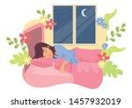 simple flat vector illustration ... | Shutterstock .eps vector #1457932019