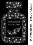 glossy mesh natural drugs vial... | Shutterstock .eps vector #1457972279