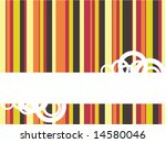 abstract lines  vector ... | Shutterstock .eps vector #14580046