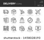 set of vector virtual reality... | Shutterstock .eps vector #1458028193
