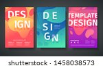 Set Of Template Design Of...