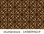 abstract decorative vintage... | Shutterstock . vector #1458094619