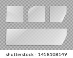 vector blank transparent... | Shutterstock .eps vector #1458108149