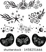 set of decorative elements for... | Shutterstock .eps vector #1458251666