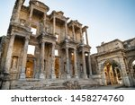 Celsius Library in ancient city Ephesus (Efes). Most visited ancient city in Turkey. Selcuk, Izmir TURKEY