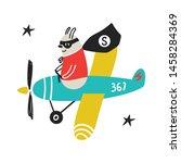 super hero   cute and fun kids...   Shutterstock .eps vector #1458284369
