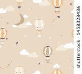 Nursery Vector Seamless Pattern ...