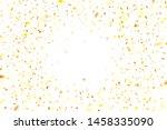 golden confetti. flying...   Shutterstock .eps vector #1458335090