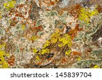 Nature Colors Background. Rock...