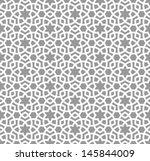 arabic seamless ornament.... | Shutterstock .eps vector #145844009
