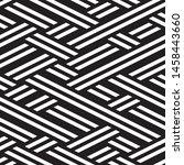 modern geometric background.... | Shutterstock .eps vector #1458443660