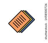 paper icon. logo element...