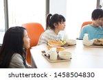 elementary school student... | Shutterstock . vector #1458504830