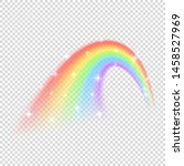 shine rainbow vector isolated... | Shutterstock .eps vector #1458527969