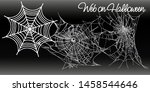 Collection Of Cobweb  Isolated...