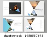 the minimalistic abstract... | Shutterstock .eps vector #1458557693