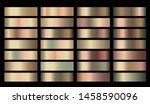 Stock photo banners with gold and bronze rusty pitting gradient texture backgrounds website headers golden 1458590096