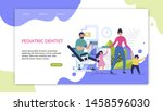 informative flyer inscription... | Shutterstock .eps vector #1458596030