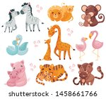 Collection Of Pairs Of Animals...