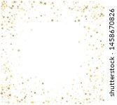 Gold Glitter Stars Corners...