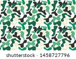military camouflage pattern ...   Shutterstock .eps vector #1458727796