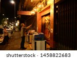 streets of chiang mai  chiang... | Shutterstock . vector #1458822683