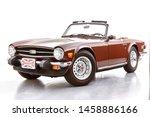 1976 Tr6 Triumph Convertible....