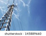 power lines | Shutterstock . vector #145889660