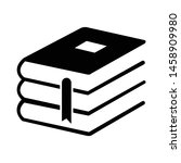book icon in trendy flat style...