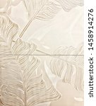 ceramic tiles with floral... | Shutterstock . vector #1458914276