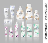 set of realistic branding...   Shutterstock .eps vector #1458932600
