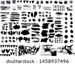 vector grunge textures ... | Shutterstock .eps vector #1458937496
