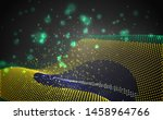 vector bright glowing country... | Shutterstock .eps vector #1458964766