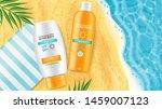 sunscreen cream vector... | Shutterstock .eps vector #1459007123