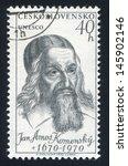 czechoslovakia   circa 1957 ... | Shutterstock . vector #145902146