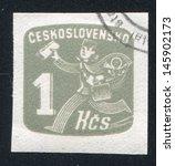 czechoslovakia   circa 1945 ...   Shutterstock . vector #145902173