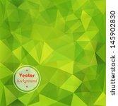 seamless abstract green vector... | Shutterstock .eps vector #145902830