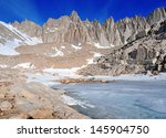 Mount Whitney And Sierra Crest...