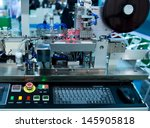 factory control room with... | Shutterstock . vector #145905818
