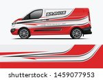 van wrap design. wrap  sticker... | Shutterstock .eps vector #1459077953