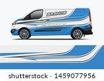 van wrap design. wrap  sticker... | Shutterstock .eps vector #1459077956