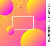 trendy gradient abstract... | Shutterstock .eps vector #1459104389