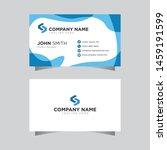 modern creative business card... | Shutterstock .eps vector #1459191599