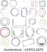 vector illustration. collection ... | Shutterstock .eps vector #1459211870