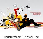 dj. all elements and textures... | Shutterstock .eps vector #145921220