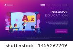 disabled children studying in... | Shutterstock .eps vector #1459262249