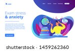 terrible time crunch  cramming... | Shutterstock .eps vector #1459262360