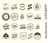 collection of premium quality... | Shutterstock .eps vector #145928699